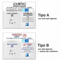 Art. 16400 Disco Orario Viacard