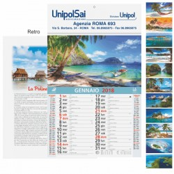 Art. 5003 Calendario Figurato Travel