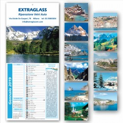 Art. 5602 Calendario Paesaggi + Note