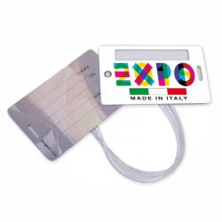 Art. 1004 Etichetta bagaglio Doppia