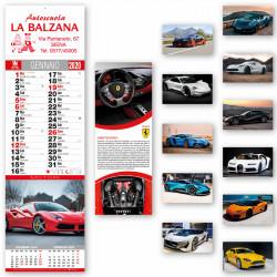 Art. 5401 Calendario Mini Auto Sportive