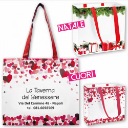 Art. 19135 - Shopper Cuori/Natale