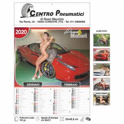 Art. 4190 Calendario Donne/Motori 6 Fogli