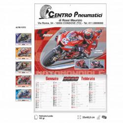 Art. 2690 Calendario Moto GP 6 Fogli