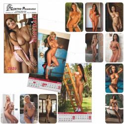 Art. L62 Calendario Nudo Maxi 13 Fogli