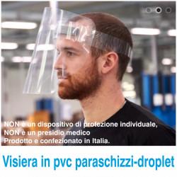 Art. Visiera paraschizzi-droplet