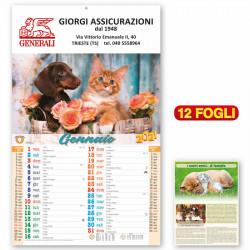Art. 5004 - Calendario Cani e Gatti