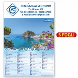 Art. 6390 - Calendario Medtiterraneo
