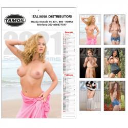 Art. D6890 - Calendario Nudo 6 Fogli