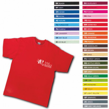 articolo-a940-t-shirt-colorata-fruit-of-the-loom
