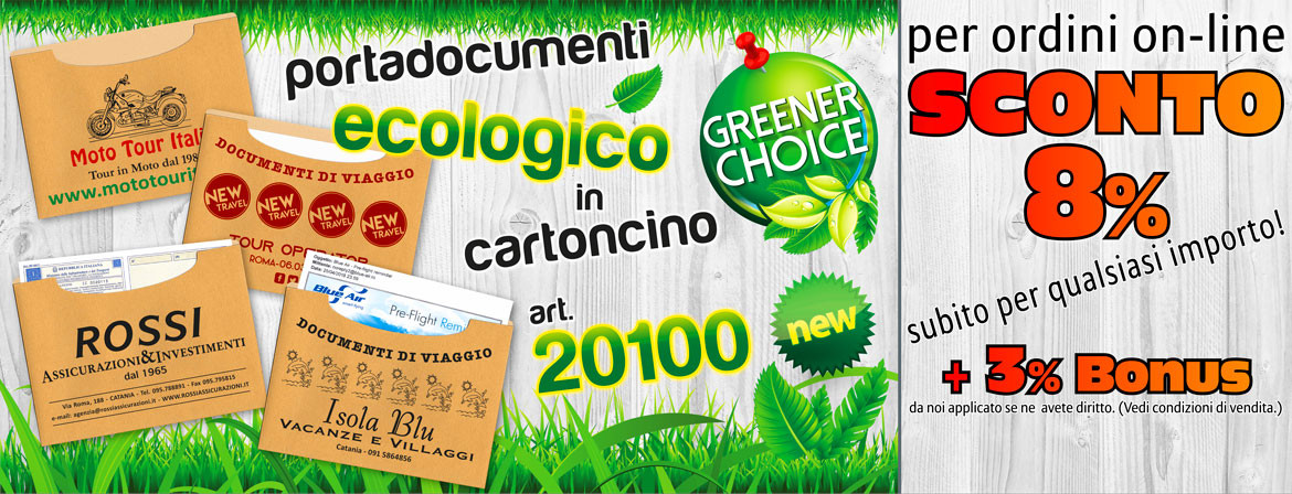 Portadocumenti green